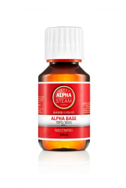 Alpha Premium Base 70/30 - 100ml Basisliquid