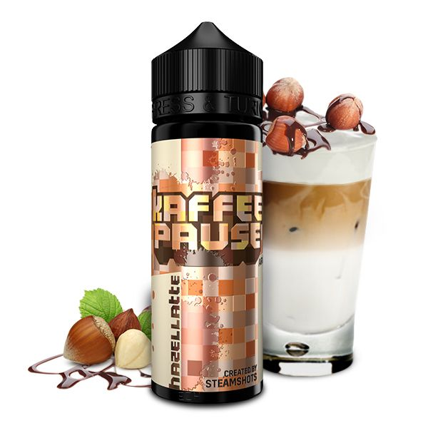 Steamshots - Kaffeepause Hazellatte Aroma 20ml Longfill