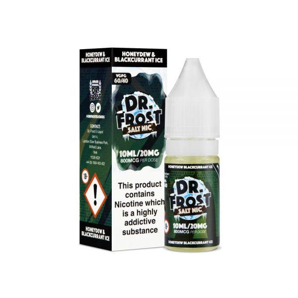 Dr.Frost Nic Salt - Honeydew Blackcurrant Ice Liquid 20mg