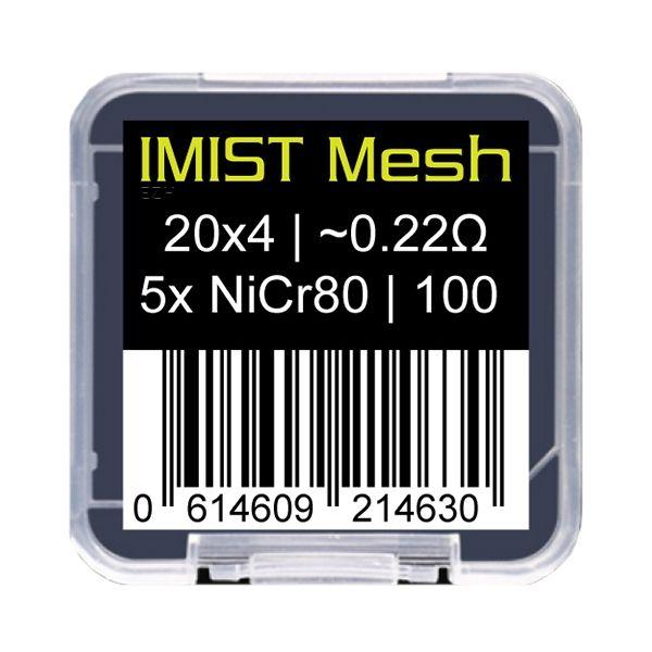 IMIST - Simurg Ni80 Mesh Streifen 0.22 Ohm 5er Pack