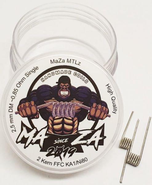 MaZa Handmade Coils - MTLz 0.85 Ohm 2er Pack