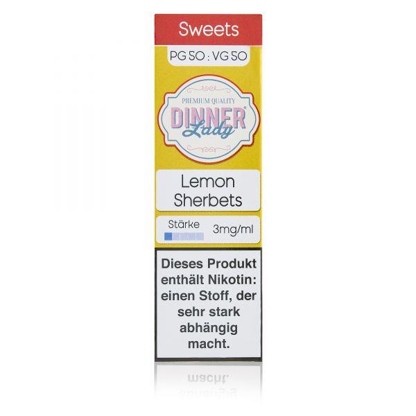 Dinner Lady Sweets 50/50 - Lemon Sherbets Liquid 10ml