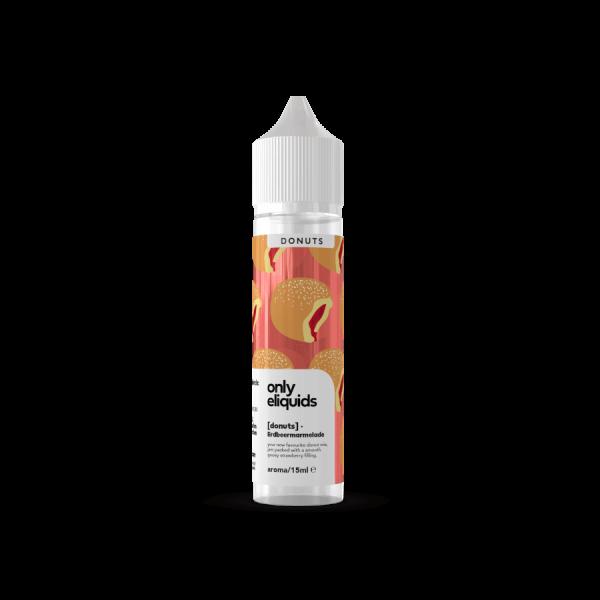 Only - Krapfen Erdbeermarmelade Aroma 15ml Longfill