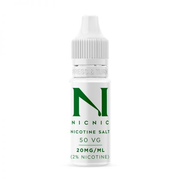 NICNIC Nikotinsalz Shot 50/50 NicSalt 20mg 10ml