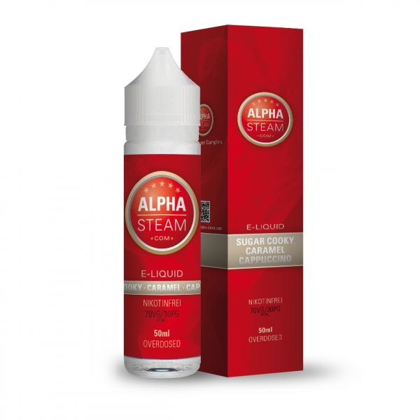 Alpha Liquid - Sugar Cooky Caramel Cappuccino 50ml