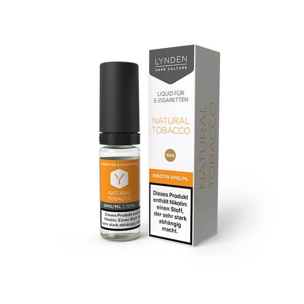 Lynden Natural Tobacco Liquid 6mg