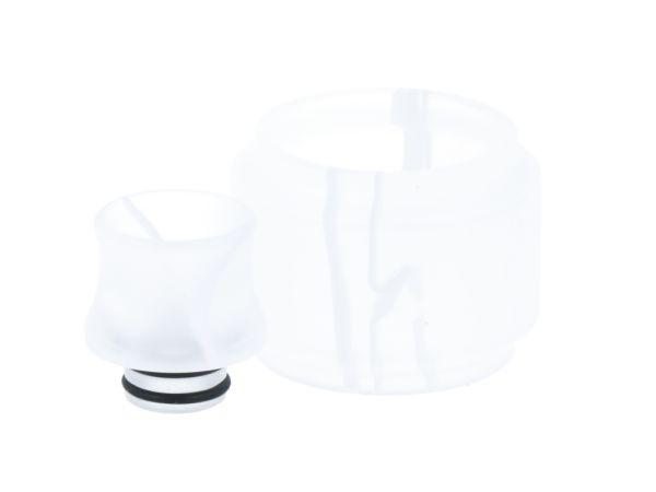 TFV12 Baby Prince Glas+Driptip - Weiß