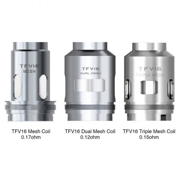 Smok - TFV16 Dual Mesh Coils 0.12 Ohm