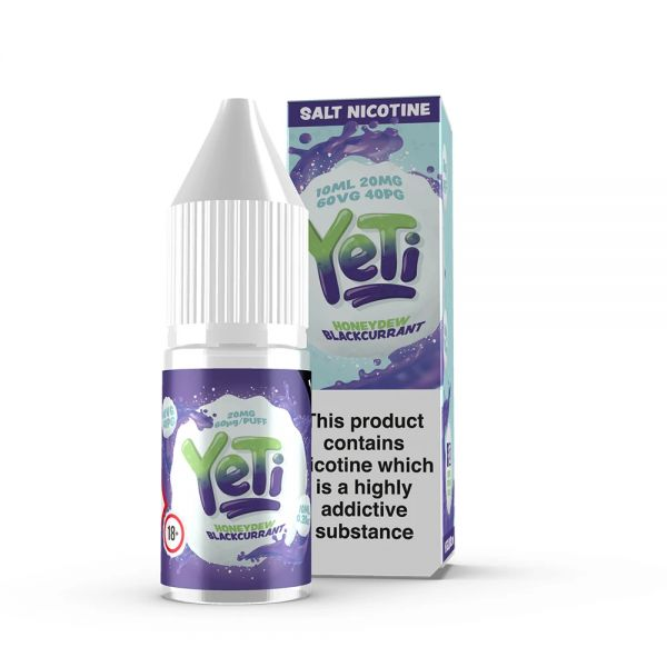 YETI NicSalt - Honeydew Blackcurrant Liquid 10ml 20mg