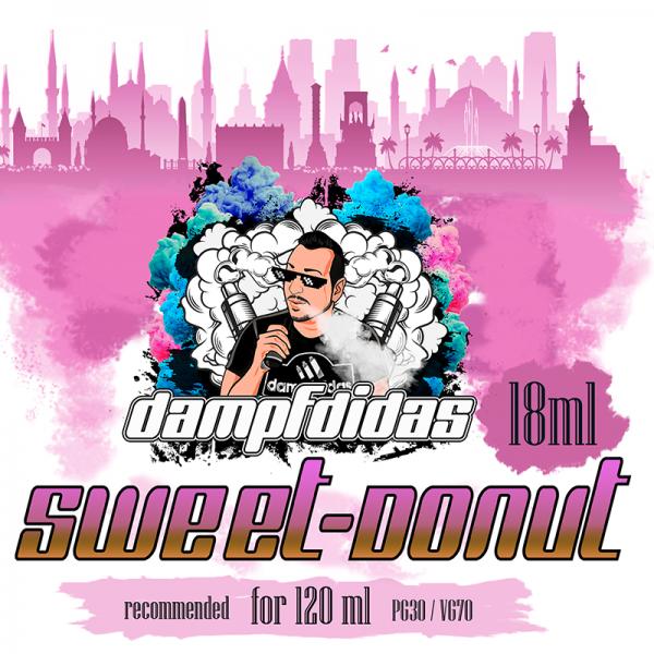 Dampfdidas - Sweet Donut Aroma 18ml Longfill