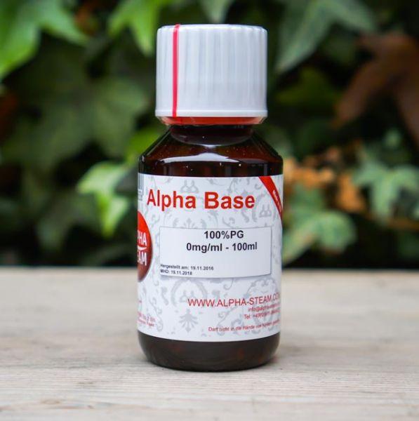 Alpha Base - 100% PG 100ml
