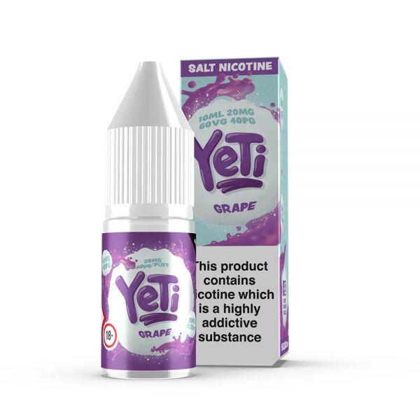 YETI NicSalt - Grape Liquid 10ml 20mg