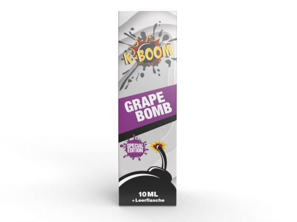 K-Boom Special Edition 2020 - Grape Bomb Aroma 10ml Longfill