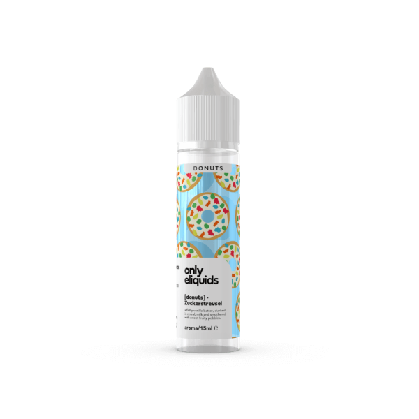 Only - Zuckerstreusel Donut Aroma 15ml Longfill