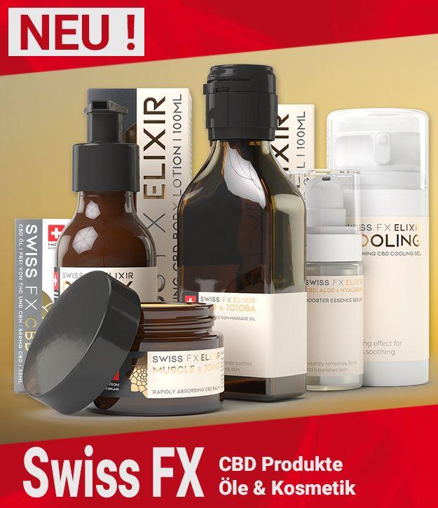 Swiss FX CBD Produkte kaufen