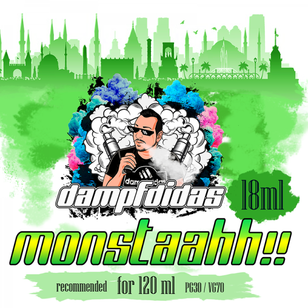 Dampfdidas - Monstaahh!! Aroma 18ml Longfill