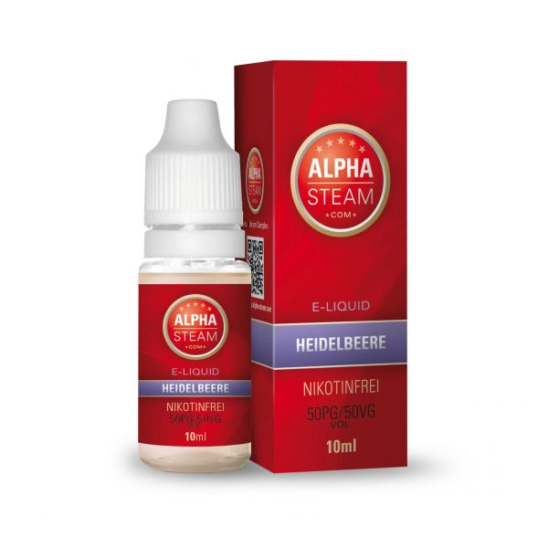 Alpha Steam Liquid 50/50 MTL - Heidelbeere