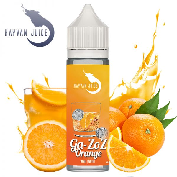 Hayvan Juice - Gazoz Orange 10ml Longfill Aroma