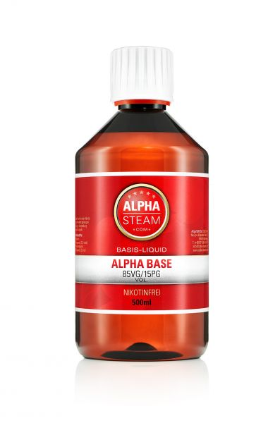 Alpha Classic Base 50/50 - 500ml Basisliquid