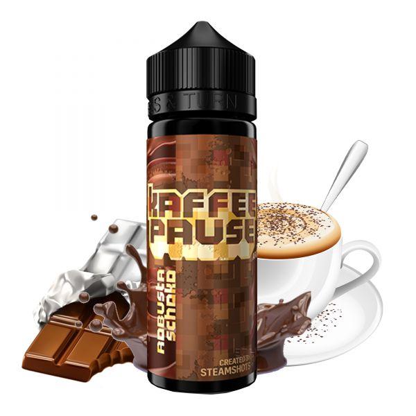 Steamshots Kaffeepause Aroma Robusta Schoko 20ml Longfill