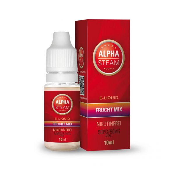 Alpha Steam Liquid 50/50 MTL - Frucht Mix