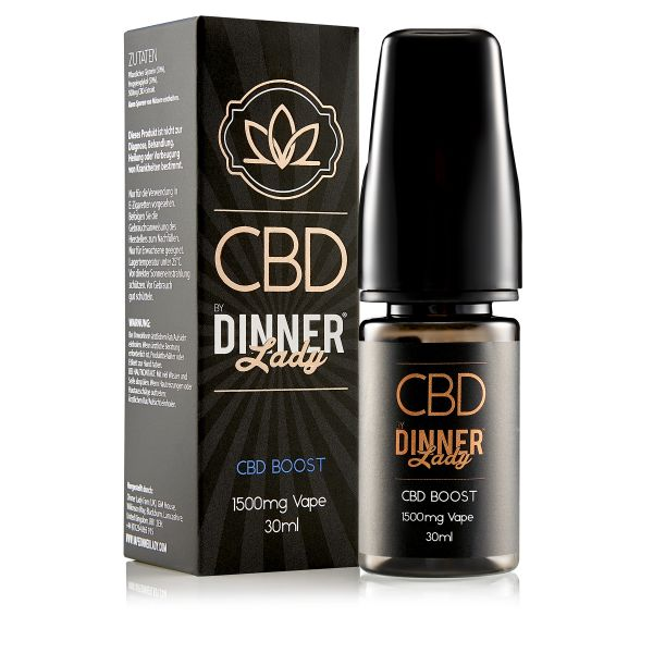Dinner Lady CBD - Booster 1500mg 30ml