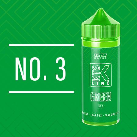 KTS Rocks - Green No. 3 Aroma 30ml Longfill