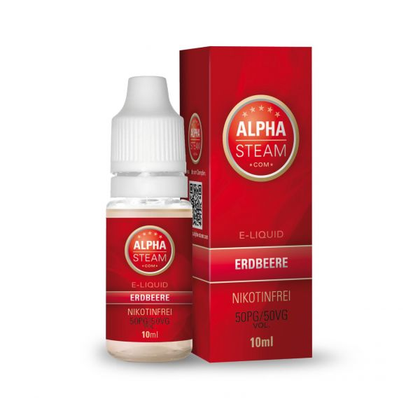 Alpha Steam Liquid 50/50 MTL - Erdbeere