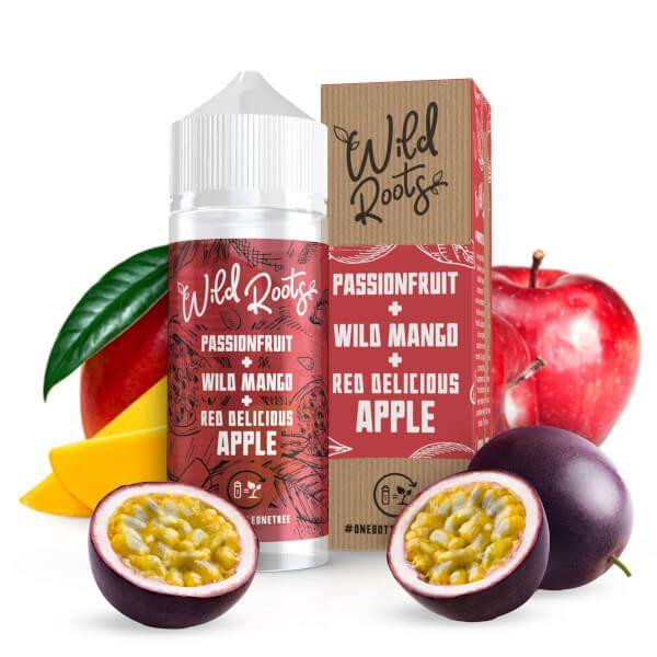 Wild Roots - Passionfruit Mango Apple Liquid 100ml Shortfill