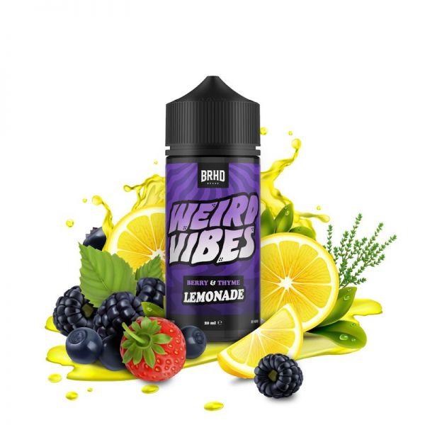 BRHD Weird Vibes - Berry & Thyme Lemonade Aroma 20ml Longfill