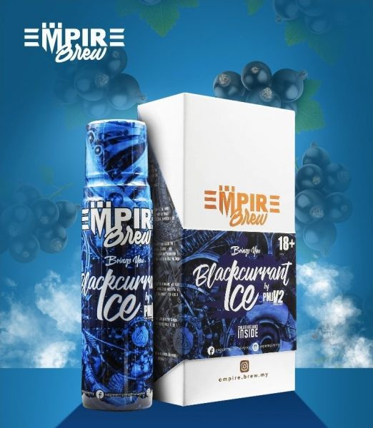 Empire Brew - Blackcurrant Ice Liquid 50ml Shortfill