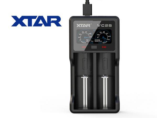 Xtar - VC2S Highend Ladegerät für E-Zigaretten