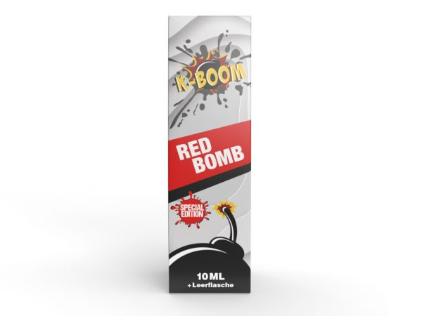 K-Boom - Red Bomb Special Edition Aroma 10ml Longfill